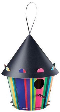 Tweet Tweet Home Striped Cone Bird House by Tweet Tweet Home, http://www.amazon.com/dp/B004LOMFJ0/ref=cm_sw_r_pi_dp_TD3Krb0Z97604