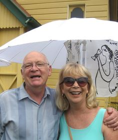 Lovely couple from Coffs Harbour enjoying Love Handmade Samford.