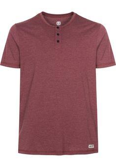 Element Basic-Henley - titus-shop.com  #TShirt #MenClothing #titus #titusskateshop