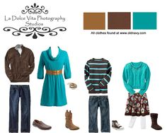 Colorful Family Picture Outfit Ideas | ... {Central Florida Photographer}: Ideas for fall photo wardrobes