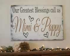 Our greatest blessings call us Grandma and by WildflowerLoft