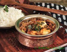 Dim Kosha - A spicy and tasty Bengali egg curry!