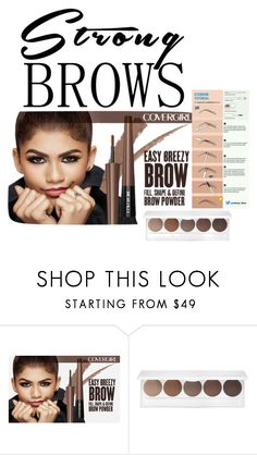 """eyebrow"" by cinzia-cipriani ❤ liked on Polyvore featuring beauty"