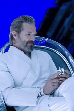 """Jeff Bridges - """"Tron Legacy"""" (2011) Leon Bridges, Movie Props, Movie Tv, Film Science Fiction, Tron Legacy, The Big Lebowski, Cinema, Mans World, Best Actor"""