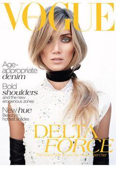 July 2012. Model: Delta Goodrem. Subscribe here: http://www.magsonline.com.au