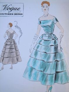 Vogue Couturier 719, ca 1952/53