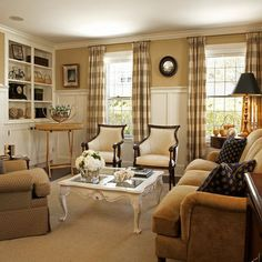 Traditional Living Room cottage style Design Ideas, Pictures, Remodel and Decor