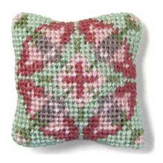 Anthea dollhouse needlepoint cushion kit