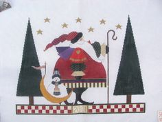 Heartstrings Needlepoint Canvas SG 2001 Limited Ed Santa Millenium Journey KT   eBay