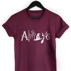 Always Harry Potter Shirt, Harry Potter Fan Shirt, Wizard Tee, HP Logos Tee | The FMLY shop