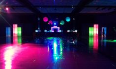 Light Up the Night !  was the theme that inspired Carolina Event Services design for this years Lexington Prom