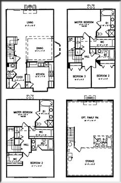The Cascades Carlisle TownHouse Floor Plans
