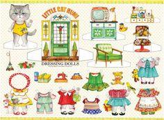 LITTLE CAT RUMI Dressing Doll