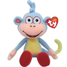 "Rare Ty Beanie Bables - Ty Beanie Babies 8"" Dora's friend Boots"