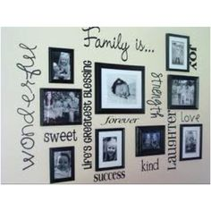 Picture hanging idea. I'm going to do this in my next place.