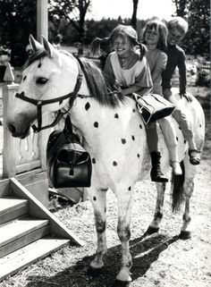 Pippi Långstrump my heroe Photo Trop Belle, Clowns, Black White Photos, Black And White, Pippi Longstocking, Good Old Times, My Childhood Memories, White Photography, Horses