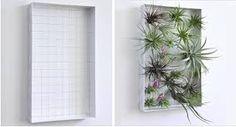 Vertical Garden Design Idea from Flora Grubb Gardens Hanging Air Plants, Indoor Plants, Indoor Outdoor, Plant Wall, Plant Decor, Vertical Garden Design, Vertical Gardens, Wedding Table Centres, Flora Grubb