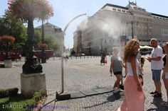 Stay hydrated! Bratislava is baking once again, with the Hydrometeorological Institute issuing its highest (Level 3) heat warning. Expect above 36°C (97°F) in the nation's capital.
