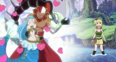 Fairy tail -when aquarius found her soulmate-