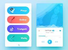 Interesting music player concept UI by  Johny Vino. - - - - - #app #appdesign #design #designer #dribbble #behance #iosdesign #iosinspiration #iosinterface #iphonedesign #iphoneinspiration #iphoneinterface #mobiledesign #mobileinspiration #mobileinterface #ui #ux #userinterface #userexperience #uidesign #uxdesign #interfacedesign #wireframe #digitaldesign #webdesign #materialdesign #minimalistdesign #visualdesign #userinterfacedesign #dailyui