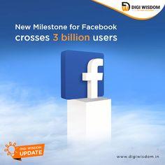 Facebook has crossed 3 billion users Social Media Marketing Courses, Marketing Training, For Facebook, Training Courses, Digital Marketing, Ads, Learning, Instagram, Teaching