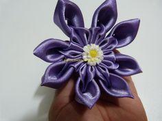 tutorial de flores moños lazos en citas para el cabello paso a paso   No...