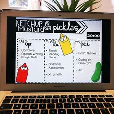 20 minutes of ketchup and pickles time on a Friday is a MUST! My students love h. 20 minutes of ketchup and pickles time on a Friday is a . Classroom Procedures, Classroom Behavior, Classroom Activities, Classroom Organization, Classroom Management, Classroom Fun, Behavior Management, English Teacher Classroom, Classroom Meeting