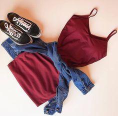 Pin by Bikini Fashions on Bikini Fashion in 2019 Teen Fashion Outfits, Cute Fashion, Outfits For Teens, Trendy Outfits, Girl Outfits, Womens Fashion, 30 Outfits, Chic Outfits, Fashion Clothes