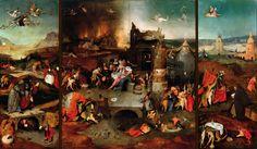 Jheronimus Bosch - Antonius-drieluik (c. 1501)