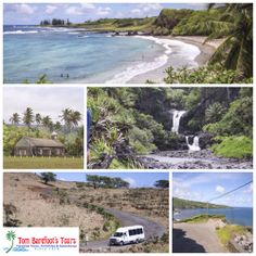 If you're considering an all day tour to Hana, make sure you take a look at this trip with Valley Isle Excursions! http://www.tombarefoot.com/info/Hana_Tour_with_Valley_Isle_Excursions.html