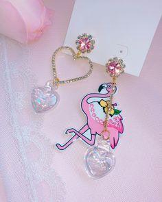 Tiffani Roolia Kawaii Jewelry, Kawaii Accessories, Cute Jewelry, Jewelry Accessories, Ring Necklace, Stud Earrings, Fashion Earrings, Fashion Jewelry, Piercings