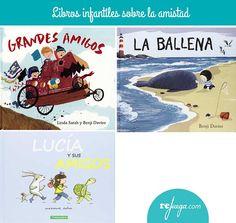 Libros infantiles sobre la amistad Children's Films, Health Unit, Sixth Grade, Puppets, The Unit, Album, Reading, Illustration, Books