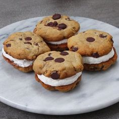 Froyo Cookie Sandwiches