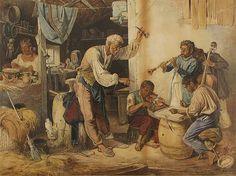 Jankó János: Muzsikusok - Pintér Aukciósház Artist, Painting, Artists, Painting Art, Paintings, Painted Canvas, Drawings