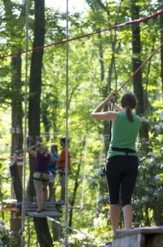 Spend a day in the trees on the tree top adventure course at CBK Mountain Adventures, with thrilling obstacles to get your heart pumping! Then soar down Camelback Mountain on the the 4,000' long tandem Zip-Flyer, the longest & fastest in North America!