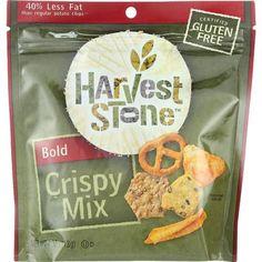 Harvest Stone Snack Mix - Crispy - Bold - Gluten Free - 4 Oz - Case Of 12