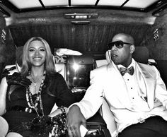 The elite - Power couple Jay-Z, leader in hip-hop, and his wife Beyonce, leader in female R.