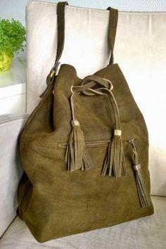 Diy suede leather purse from old coat - Vanhasta mokkatakista kassi #kierrätys Tuunausta ja tekeleitä