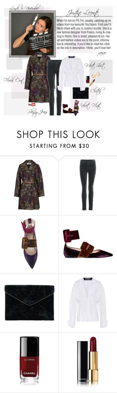 """""""Mon Style № 150 - 6 November, 2017"""" by mon-style-diary ❤ liked on Polyvore featuring Valentino, J Brand, Attico, Rebecca Minkoff, Jacquemus, Chanel and Melissa Kaye"""