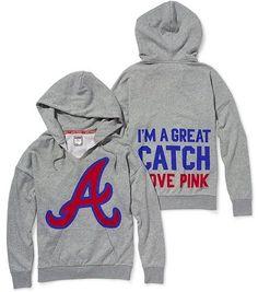 Victoria's Secret Pink® Atlanta Braves Slouchy Hoodie