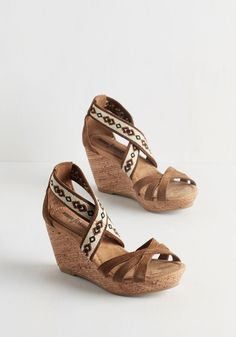 753a0f6628c2 40 Best Wedge Shoes...Stylish   Still Able to Walk in Em images ...
