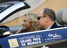 El Príncipe Alberto de Mónaco y Charlene Wittstock, en el GP de F1 de Mónaco…