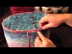 Camden Bag Sewing the Bottom & Side Seam - YouTube