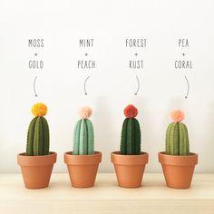 Felt Cactus by bysahrah on Etsy