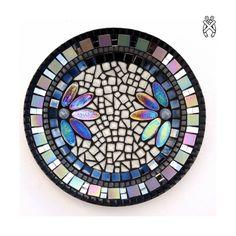 Mozaiek schaal Corso Zwart. Compleet mozaïekpakket voor beginners en gevorderden. Geen gereedschap nodig!