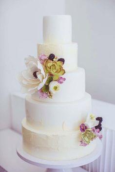 48 Eye-Catching Wedding Cake Ideas - JunoPhoto