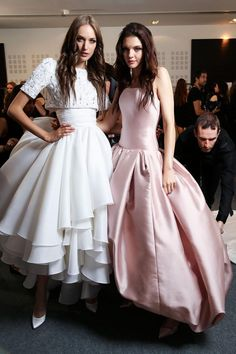 Ralph & Russo Fall 2015 Haute Couture Backstage