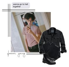 """""""~ d i n n e r ○ d a t e ~"""" by oh-jimin ❤ liked on Polyvore featuring American Eagle Outfitters, Nobody Denim, Common Projects, men's fashion and menswear"""
