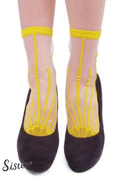 Sister  【Sister Original】Socks「DEMAIN」-SUN color-