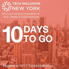 Be a Sponsor and Build Inclusive Tech Hubs with Intentionality 🚀⠀ Join Change Catalyst / @Viacom / @Galvanize in NY on Aug 9-10th⠀ . Tickets will sell out (seriously)  http://tcin.co/2ug0VTA-R